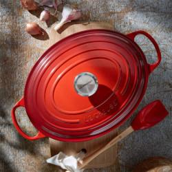 ladychef Le Creuset Cocotte ovale Rosso Ciliegia Evolution con coperchio
