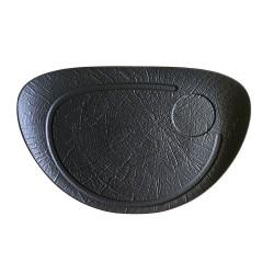 ladychef Tognana Piatto Bistecca ovale Vulcania Black