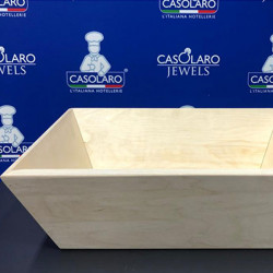 Wood dough madia container
