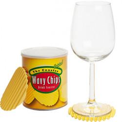 Sotto bicchiere patatina