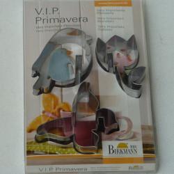 ladychef Teglie e Forme Stampi biscotti per tazze/bicchieri set 3 pz VIP Primavera