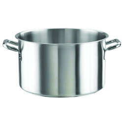 Casserole with 2 stainless...