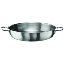 Pan with 2 handles