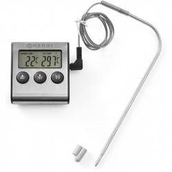 Termometro a sonda con timer