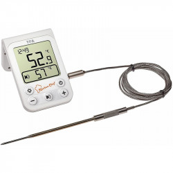 Digital thermometer for roasts
