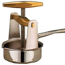 Stainless steel meat squeezer