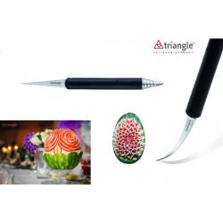 Thai carving knife