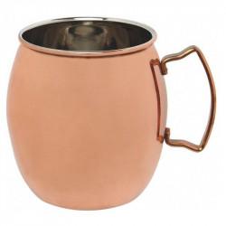 ladychef Passione rame Mug in acciaio ramato 470 ml
