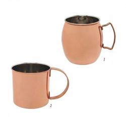 ladychef Mug Mug in acciaio ramato 470 ml