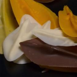 ladychef Cioccolato Spatola per foglie in cioccolato