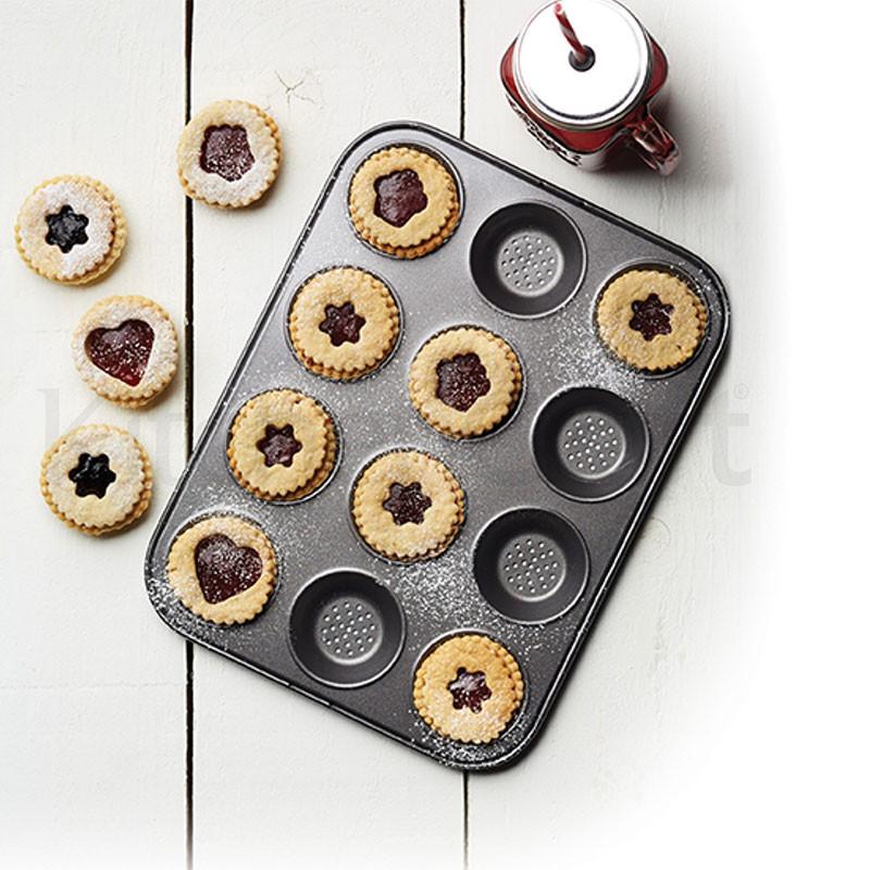 ladychef Teglie e Forme Teglia tartellette e muffin Crusty Bake