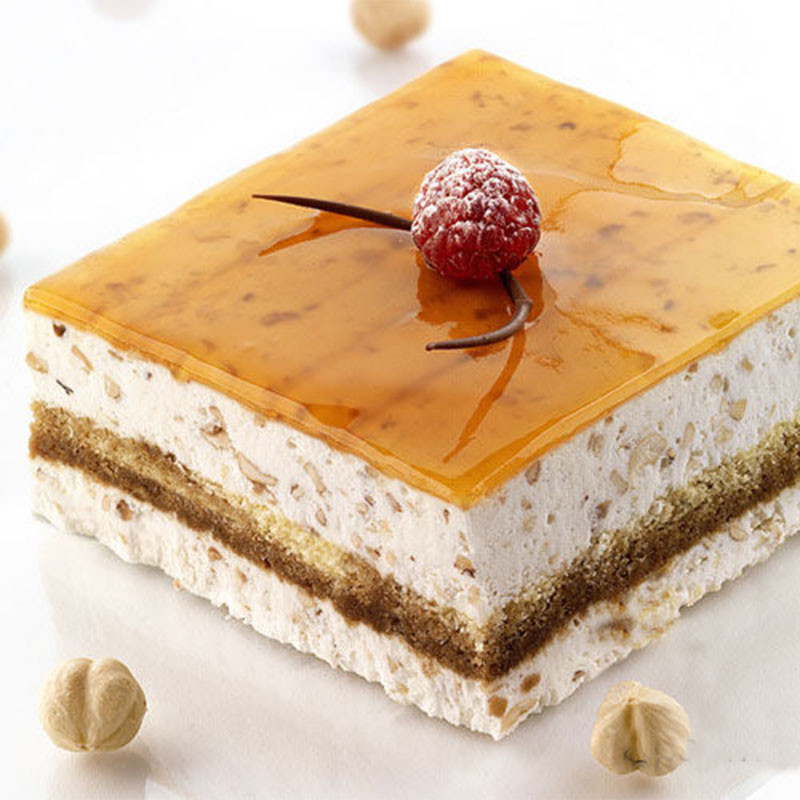 ladychef Forme in silicone Stampo torta quadrato