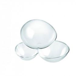ladychef Finger food Coppetta molecola trasparente 100 cc confezione da 25 pezzi