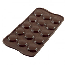 ladychef Stampi silicone Stampo Choco Macarons 15 forme