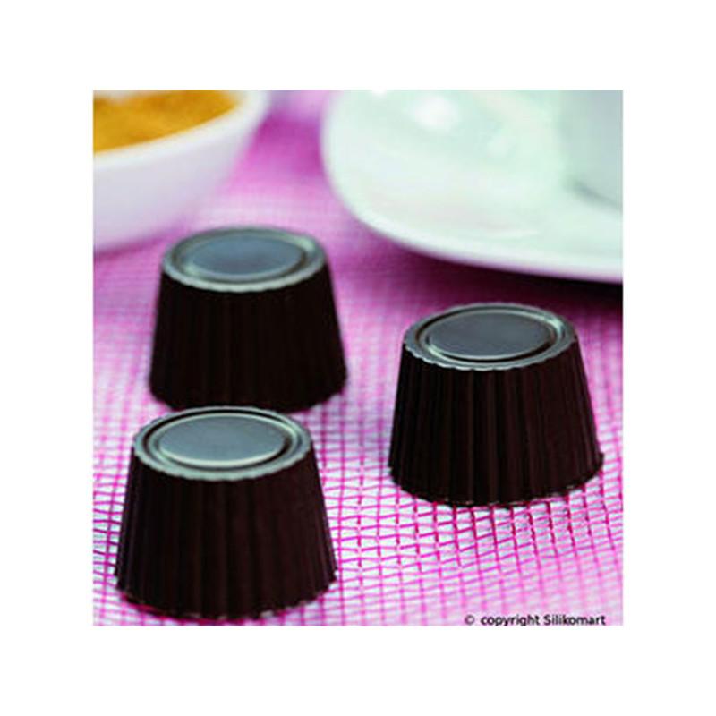 ladychef Stampi silicone Stampo Praline 15 forme
