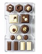 stampi policarbonato per cioccolato